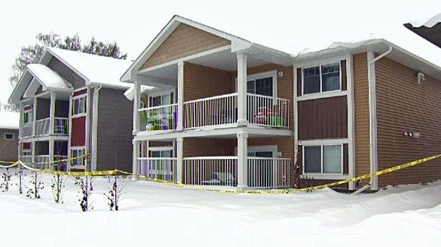 Walker was found dead in the basement suite of her duplex in Strathmore.