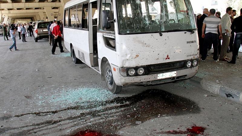 Syria, suicide bomd, damascus,