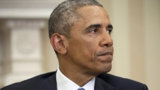 Obama reacts to Charlie Hebdo attack in Paris