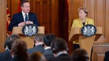 Merkel and Cameron respond to Paris attack