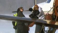 Cosby arrives in Waterloo