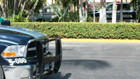 Thomas Gisby was gunned down at a Starbucks in Nuevo Vallarta, Saturday, April 28, 2012.
