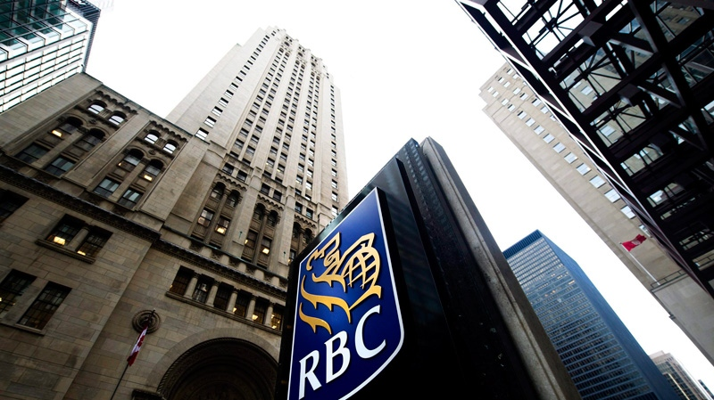 The Royal Bank of Canada sign is seen at its former head office in downtown Toronto, Dec. 2, 2011. (Nathan Denette / THE CANADIAN PRESS)
