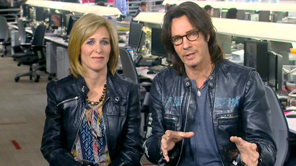 Rick Springfield and director Sylvia Caminer talk to Canada AM about their new documentary, Monday, April 30, 2012.