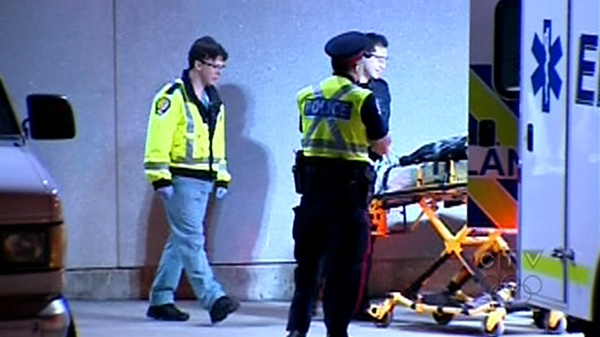 Four festival-goers were in serious condition and two were taken to hospital in critical condition, Alberta Health Services said Sunday, April 29, 2012.