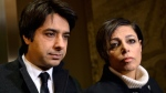 Jian Ghomeshi, left, and his lawyer Marie Henein arrive at court in Toronto on Thursday, Jan. 8, 2015. (Nathan Denette / THE CANADIAN PRESS)