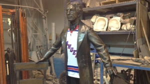 Sir John A. statue