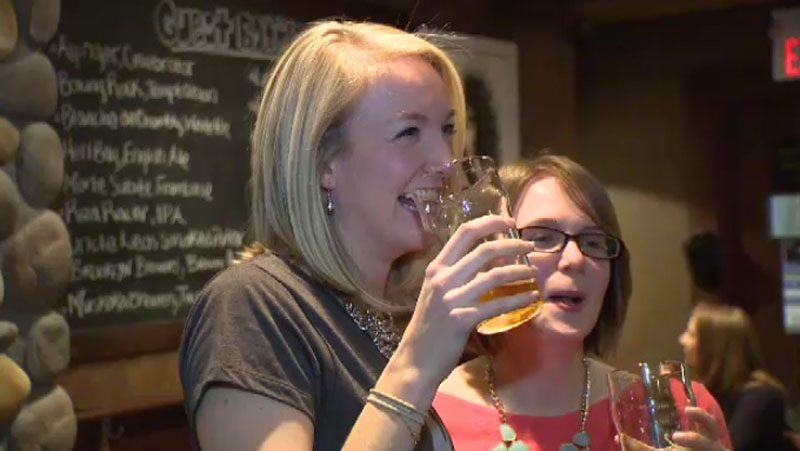 Ladies Beer League is a group aiming to do away with stereotypes around women and beer.