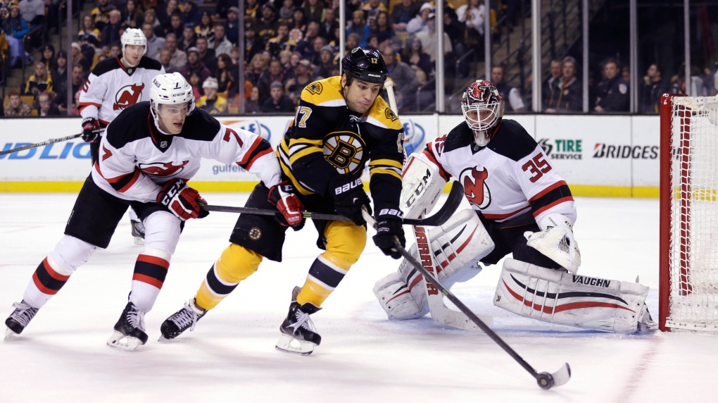 Milan Lucic Bruins Beat Devils