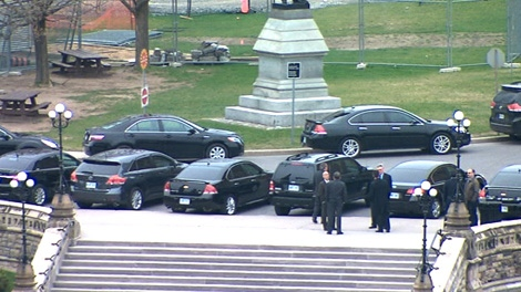 Drivers of federal cabinet ministers made $600,000 in overtime.