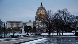 Capitol Hill in Washington, on Jan. 9, 2015. (AP / J. Scott Applewhite)
