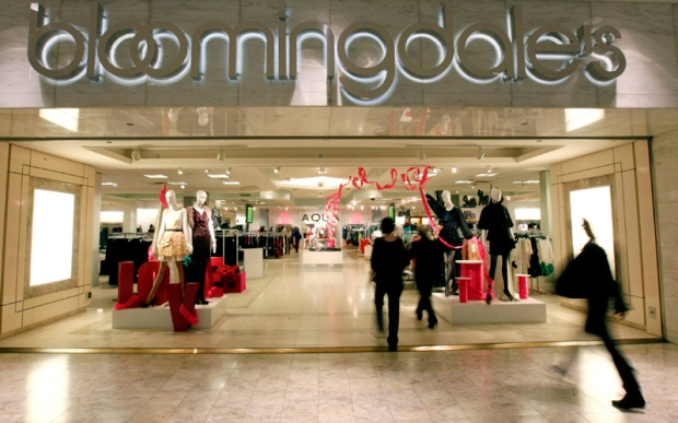 Shoppers walked out of Bloomingdale's at the Mall of America Wednesday, Jan. 4, 2012 in Bloomington, Minn. (The Star Tribune / Carlos Gonzalez)