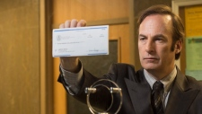 Bob Odenkirk as Saul Goodman in a scene from 'Better Call Saul'. (AP / AMC, Ursula Coyote)