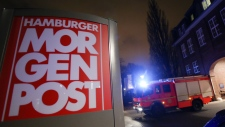 Hamburger Morgenpost attacked in Germany