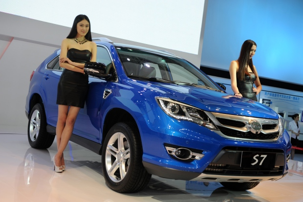 Shanghai Car Show Models Shanghai Auto Show Models