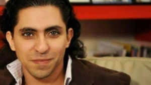 Raif Badawi, who received a sentence of 10 years in prison and 1,000 lashes after he criticized Saudi Arabia's clerics on a liberal blog he founded.