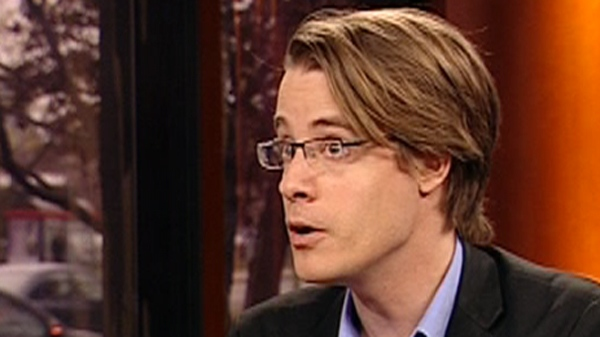 Economics researcher at York University Simon Tremblay-Pepin (May 1, 2012)