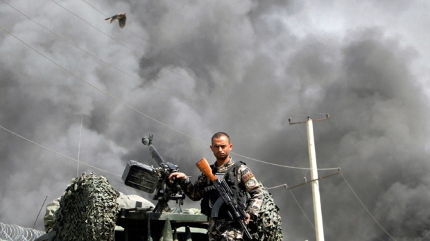 taliban, compound, attack, kabul, afghanistan,