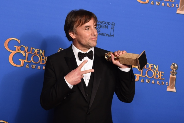 Richard Linklater at Golden Globes