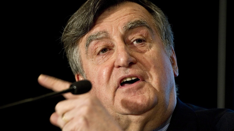 Former Quebec premier Lucien Bouchard is seen in Montreal in this March 14, 2011 file photo. (THE CANADIAN PRESS/Paul Chiasson)
