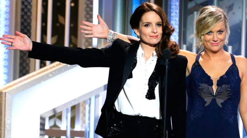 Fey, Poehler make lasting laughs at Globes