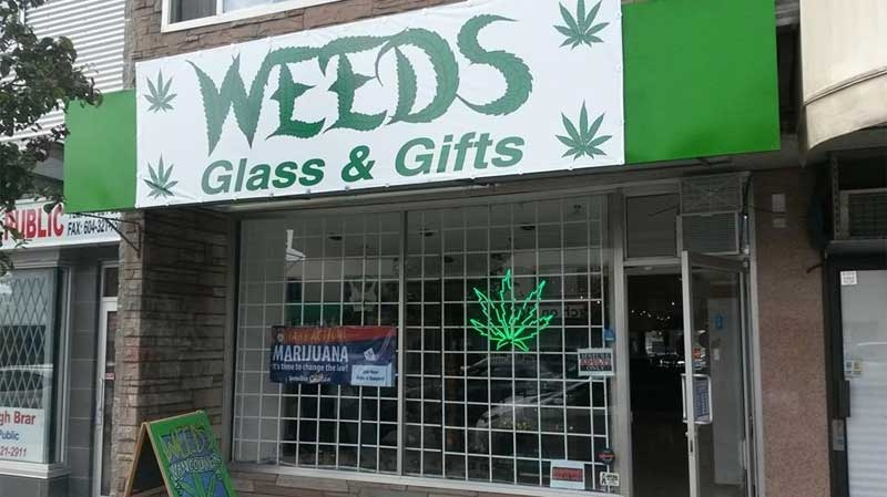 The Weeds Glass & Gifts store on South Main Street is seen in this undated Facebook photo.
