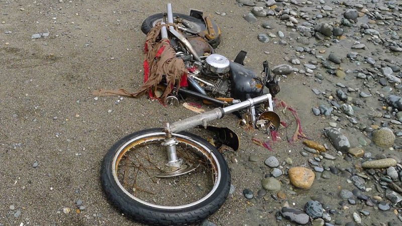 Harley Davidson Red Deer >> Japanese Harley Washes Up On B C Beach Ctv News