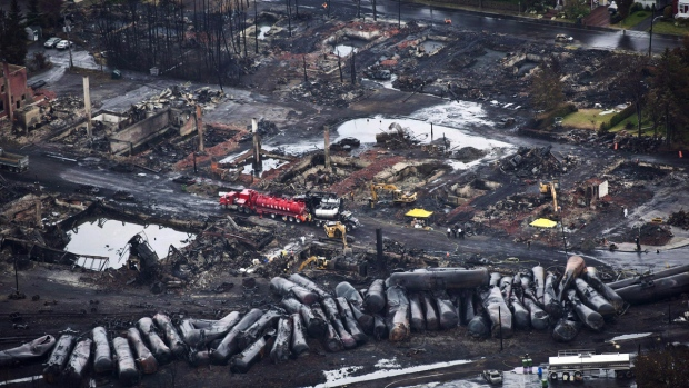 Lac-Megantic train disaster aftermath