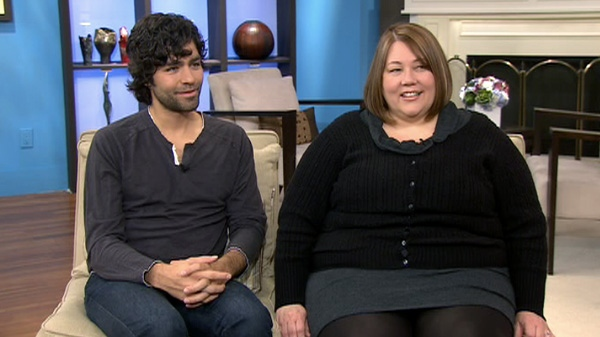 Actor Adrian Grenier and director Tiffany Sudela-Junker open up about their new documentary on Canada AM, Wednesday, May 2, 2012.