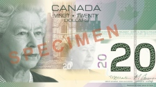 The new $20 banknote will have similar features to the $100 and $50 dollar polymer banknotes that were released 2011.