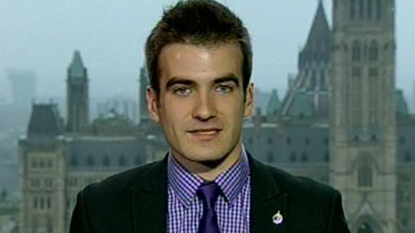 Matthew Dube, NDP MP for Chambly-Borduas (May 2, 2012)