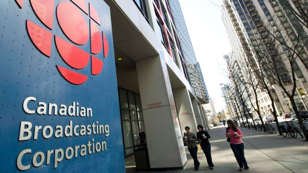 CBC building in Toronto