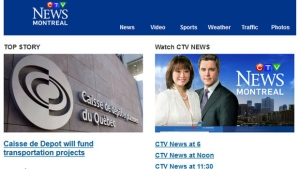 CTV Montreal newsletter