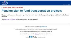 CTV Montreal alerts