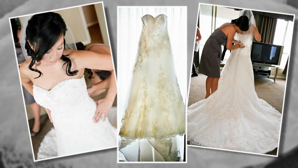 Angry bride says drycleaner held wedding dress hostage | CTV ...