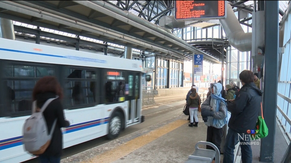 Transit officials said shelter maintenance and bus washing would be reduced. (File image.)
