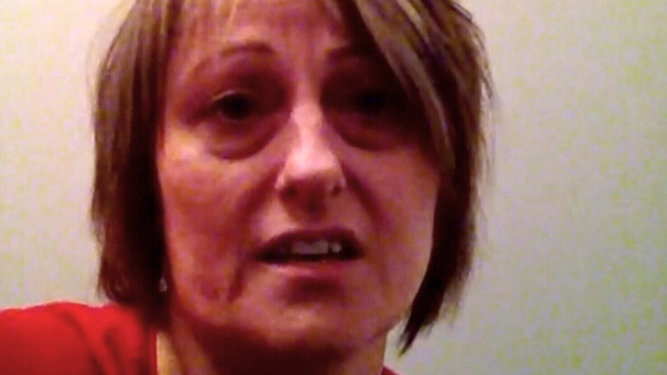 Trudy Randell speaks to CTV News via Skype.