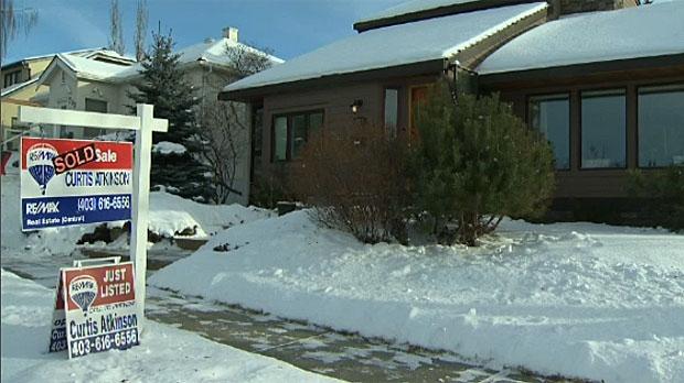 Calgary housing prices