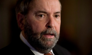 Former NDP Leader Tom Mulcair is shown in a Jan. 5, 2015 file image. (Adrian Wyld / THE CANADIAN PRESS)