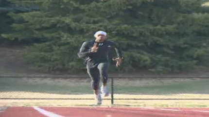 Hafeez Sumani is the CTV Calgary Athlete of the Week for Friday, May 5, 2012.