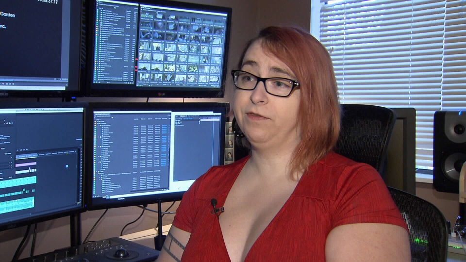 Burnaby resident Ashely Lynch was the victim of a dangerous, but increasingly popular online harassment tactic. Jan. 14, 2015. (CTV)