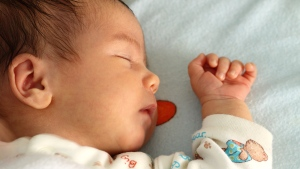 A baby is shown in this file photo. (ambrozinio/shutterstock.com)