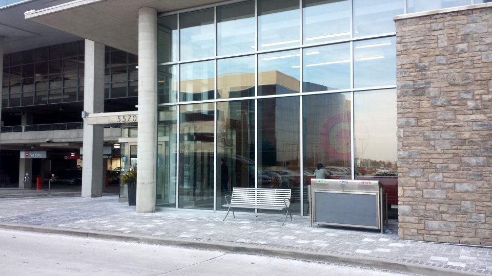 Target Canada headquarters in Mississauga, Ont. shortly after the announcement they were pulling out of Canada, Thursday, Jan. 15, 2014.