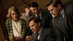"This image released by The Weinstein Company shows, clockwise from left, Keira Knightley, Matthew Beard, Matthew Goode, Allen Leech and Benedict Cumberbatch in a scene from the film, ""The Imitation Game.""  (The Weinstein Company, Jack English)"