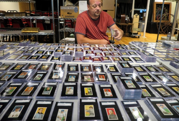 Century Old Baseball Cards Fetch 200000 In Maine Ctv News