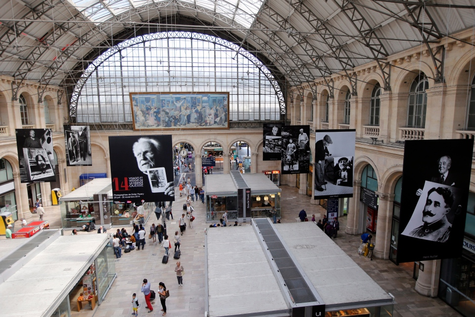 The Gare de L'Est railway station in Paris, France, Monday, June, 23, 2014. (AP / Francois Mori)