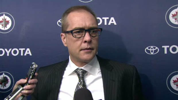 The Winnipeg Jets announced Wednesday they have extended head coach Paul Maurice's contract for multiple years. (File image)