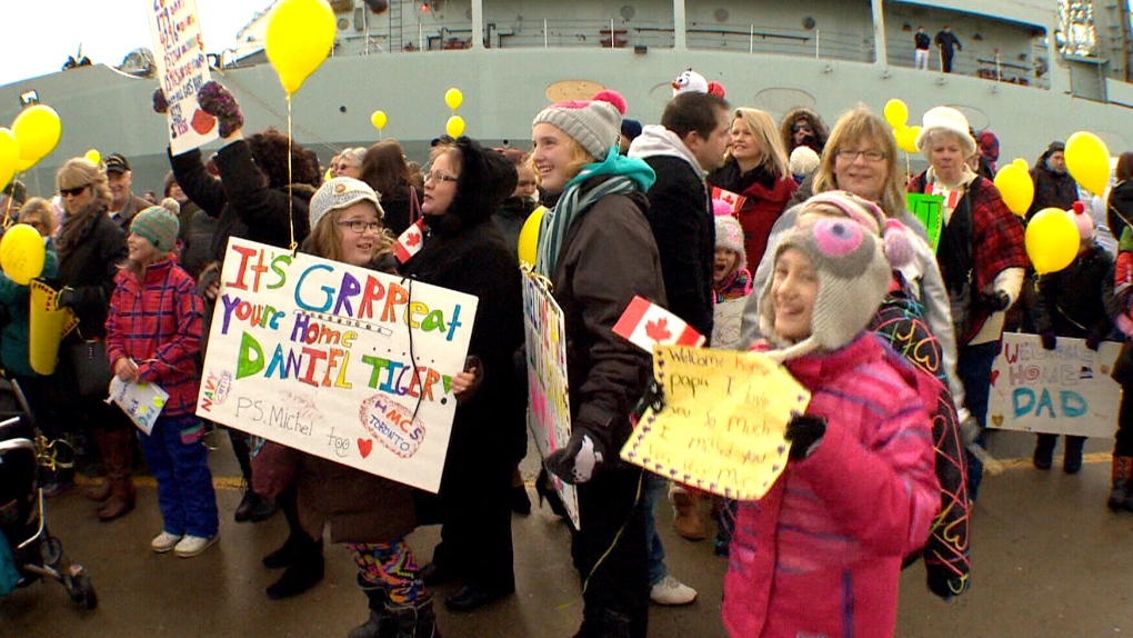 Home Sweet Home Hmcs Toronto Back From Mission Ctv News