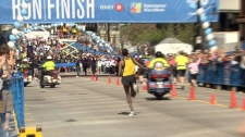 The BMO Vancouver Marathon is now the largest marathon in Canada. May 6, 2012. (CTV)