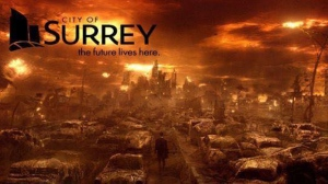 A screenshot of a Facebook page titled 'Only in Surrey' is raising the ire of local business officials who say it is 'digusting,' and an unfair portrayal of the city. Jan. 18, 2015. (Facebook)